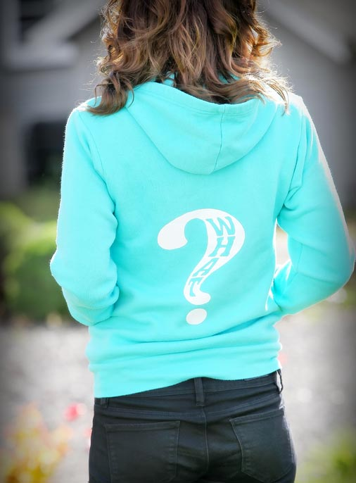 What Clothing Company | Womens Light Blue Sweat Shirt