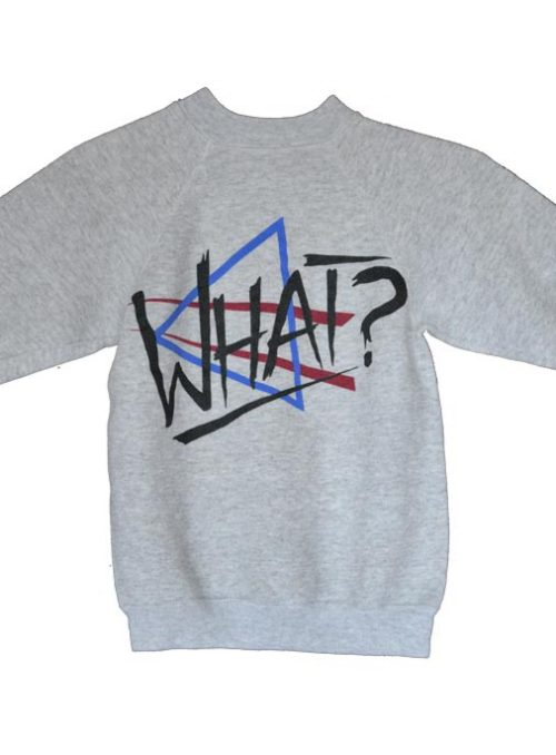 What Clothing Youth Sweat Shirt