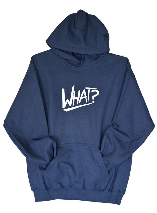 What Clothing Navy Sweat Shirt