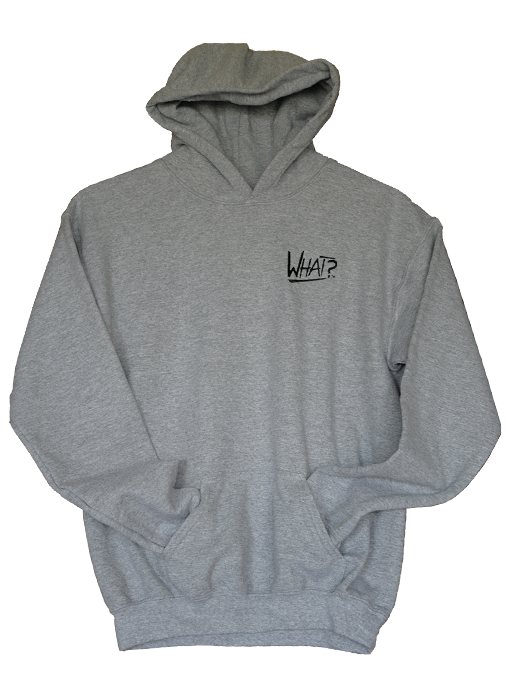 What Clothing Grey Hooded Sweat Shirt