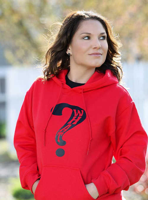 What Clothing Red Hooded SweatShirt