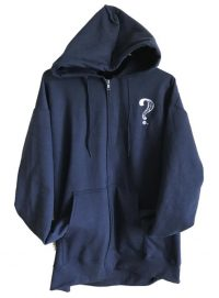 Mens Navy Hooded Sweat Shirt