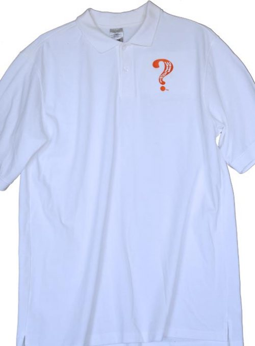 What Clothing Polo White Orange Em