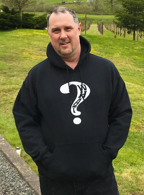 What Clothing Hooded Black Sweat Shirt